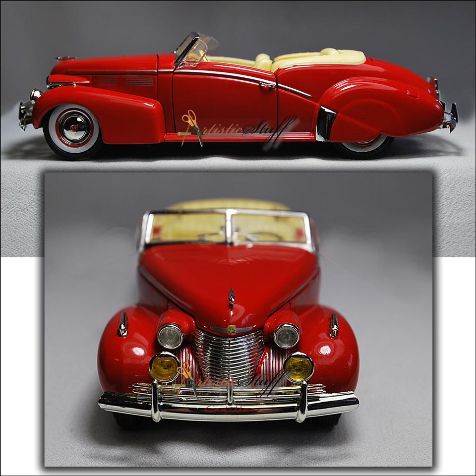 Signature Models, Cadillac Sedan Convertible 1940 1/32