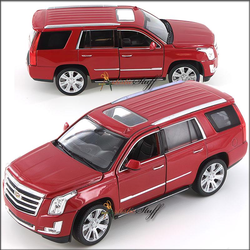 Welly 2017 Cadillac Escalade SUV. 1:24 Scale Diecast Model